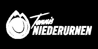 Logo Tennis Niederurnen weiss