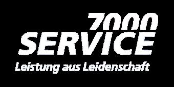 Service 7000 Logo weiss